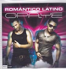 Romantico Latino-Opaye Promo cd single