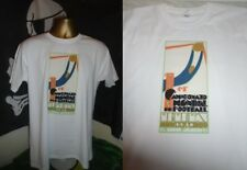 URUGUAY 1930 FIRST WORLD CUP TOURNAMENT -POSTER  T SHIRT-WHITE- LARGE- ALL SIZES