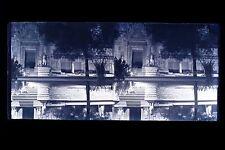 Paris éphémère Asie Exposition coloniale Paris 1931 Plaque stéréo NEGATIF