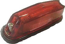 12V 24V RED SIDE MARKER PILLAR FLASH FLASHER INDICATOR OUTLINE LIGHT LAMP K242