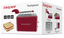 Beper Tostapane con pinze in acciaio Per panini tost cucina tosta pane rosso