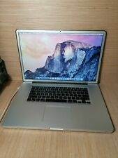 """2009 Macbook Pro 17"""" 2.8 C2D 500GB 8GB RAM (141)"""