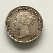 More details for victoria threepence 1844 choice aunc
