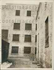 1934 Monmouth County Jail New Jersey Press Photo