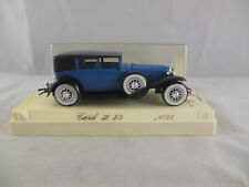 Solido Age D'or Ref 4055 Cord L 29 in Blue on Black Chassis 1:43 Scale