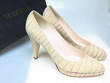 SULTANA Schuhe Designer Damenschuhe N3491 Celine Panama Talpa Gr 39