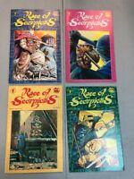 Race Of Scorpions 1-4 Complete Set 1 2 3 4 Dark Horse Comics 1991