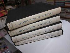 Architecture et sculpture des origines à nos jours..4vol.