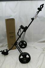 New listing New Bag Boy M340 Push Pull Golf Cart Bag Carrier BagBoy - Black Charcoal M-340