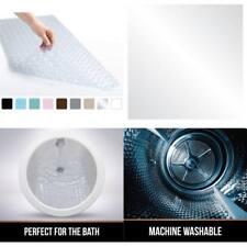 Non Slip Bath Mat Shower Bathroom Carpet Soft Foam Easy To Clean Bathmats Tubs A