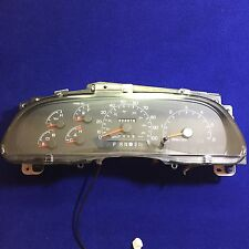 1999 2000 2001 FORD F-250 F-350 SUPERDUTY EXCURSION INSTRUMENT CLUSTER AUTO GAS