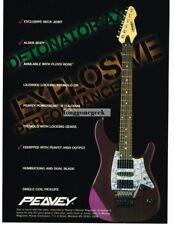 1995 Peavey Detonator Ax Electric Guitar  Magazine Ad