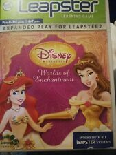 leap frog leapster learning game  game Disney Princess world's of enchantment