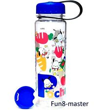 19-oz Pochacco Tritan Bpa Free Drink Water Bottle w/Removable Adapter Container