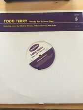 "Todd Terry - Ready For A New Day, Terdj1/terdj2, 2 x 12"" Vinyl Promo"