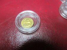 Token - 24kt Gold Plated - Mini 1978 Kruegerand