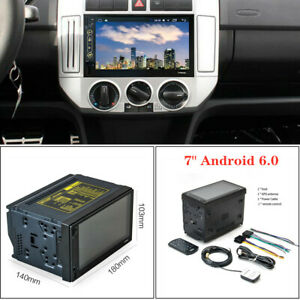"""7"""" Android 6.0 Car MP5  Player GPS Navigation Radio 2 DIN Stereo Touch Screen"""