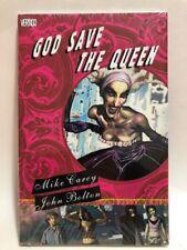 GOD SAVE THE QUEEN by Mike Carey & John Bolton (2007, Vertigo Hardcover) NEW