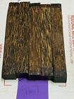 5 PIECES OF BLACK PALM~EXOTIC WOOD~PEN BLANKS~EXOTIC LUMBER 967