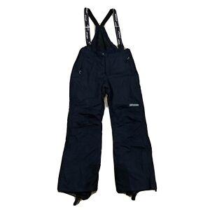 Spyder Entrant GII Thinsulate Ski Pants Adjustable Bib Suspender Black Mens Xl