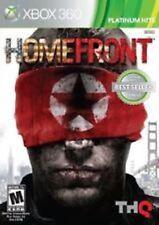 RARE- Homefront (Microsoft Xbox 360) MIB --NEW