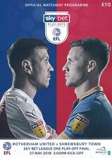 EFL LEAGUE ONE PLAY OFF FINAL 2018  Rotherham United v Shrewsbury Town