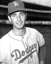 Los Angeles LA Dodgers SANDY KOUFAX Glossy 8x10 Photo Baseball Print HOF 1972