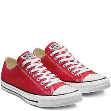 CONVERSE Chuck Taylor All Star Classic Low Top Scarpe Sneakers RED M9696C