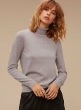 Aritzia Wilfred Free LULA Turtleneck Wool Sweater -XS