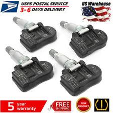 Complete Set 4 Genuine Oem For Nissan Tpms Tire Pressure Sensors Ampservice Kits