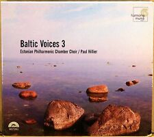 HARMONIA MUNDI (CD, 2005, GERMANY) Baltic Voices 3 AUGUSTINAS BERGMAN HMU-907391