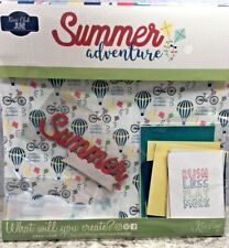 New Kiwi Lane Club June 2019 Summer Adventure Incl Templates Scrapbook Kit
