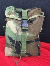 US Military | MOLLE II Sustainment Pouch - Woodland Camouflage - Dump Pouch EUC