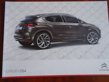 Citroen DS4 range brochure Apr 2012