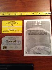 1990-1995 Warren Spahn Milwaukee Braves Personal Membership Cards Coa Provenance