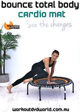 Rebounder Mini Trampoline DVD Barlates Body Blitz BOUNCE TOTAL BODY Cardio Mat