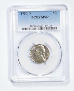 MS66 1956-D Jefferson Nickel - Graded PCGS *450