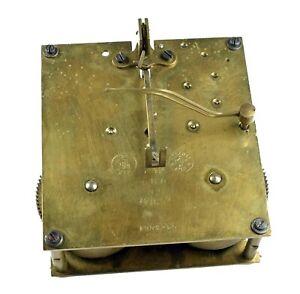 Altes GB Uhrwerk GUSTAV BECKER f Regulator Wanduhr Uhrmacher Uhr clock movement