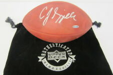 C.J. SPILLER SIGNED AUTOGRAPHED NFL THE DUKE FOOTBALL UDA AUTHENTICATED BILLS