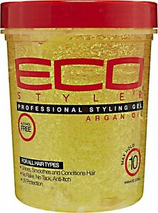 ECO STYLER MOROCCAN ARGAN OIL STYLING GEL 946ML + UK SELLER +FREE TRACK DELIVERY