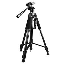 """57"""" Inch Digital Video Photo Camera Tripod Compact foothold Stand + Rubber Feet"""