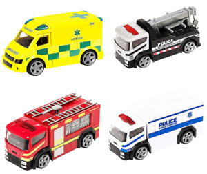 Teamsterz Kids Vehicle Toy Garbage Truck / Fire Engine / Ambulance / Police Car
