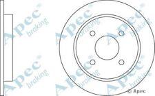 Pair Fit with RENAULT MEGANE Rear Brake Disc DSK2824 2L