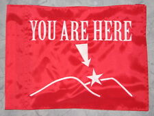 You Are Here Map ATV Dirt Bike Dune Safety Flag