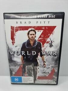 World War Z Brad Pitt DVD [M]