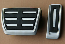 Audi RS6 4G C7 A6 S6 A7 RS7 Pedal caps covers  pedal cover pad automatic cars