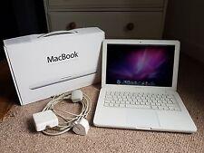 Apple MacBook 13 pouces blanc (2009) bon état, boîte d'origine