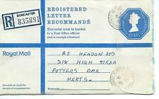 GB - REGISTERED ENVELOPE - SIZE G - £1.15.5p - DONCASTER - 835891