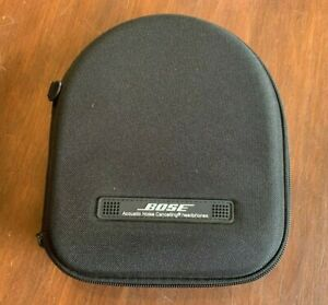 Bose Quiet Comfort Acoustic Noise Cancelling Headphones Black Hard Case (Only)