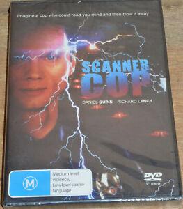 Scanner Cop (DVD, 1994) - PAL 4 - Sealed - Daniel Quinn, Richard Lynch